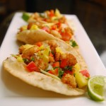 Lentil Coconut Shrimp Tacos