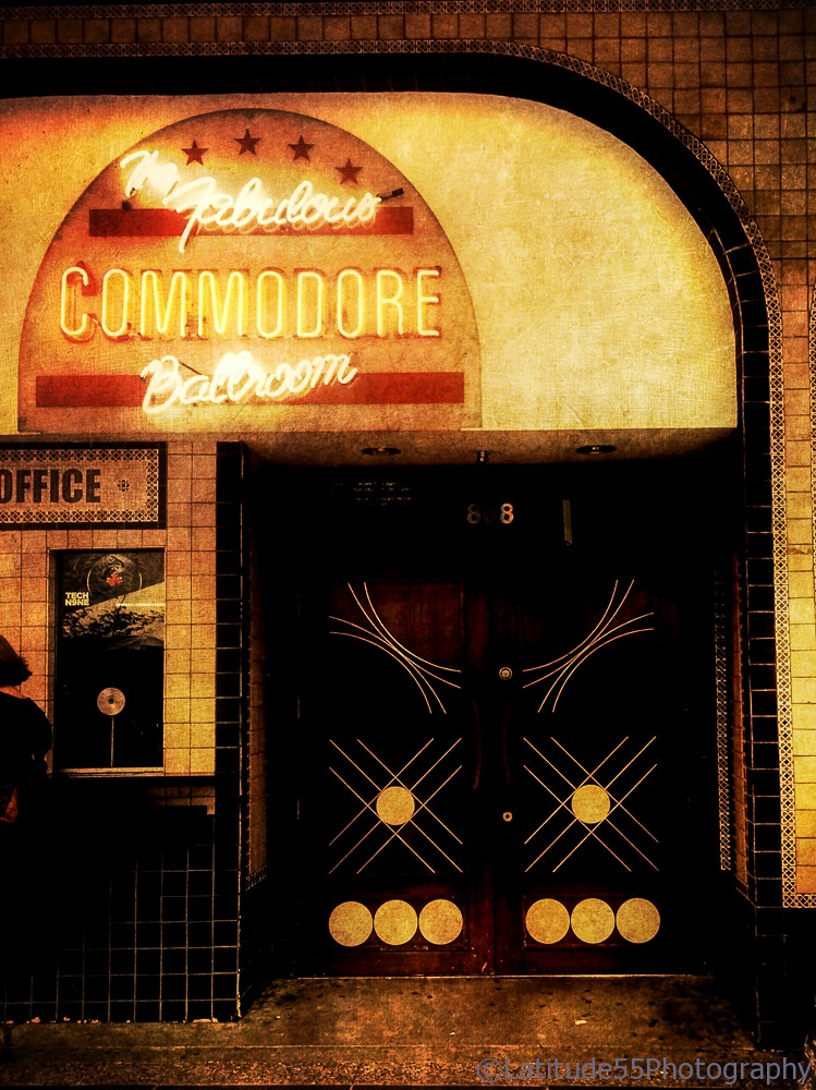 The Commodore Ballroom in Vancouver