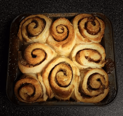 Cinnamon Buns from Nutmeg DIsrupted
