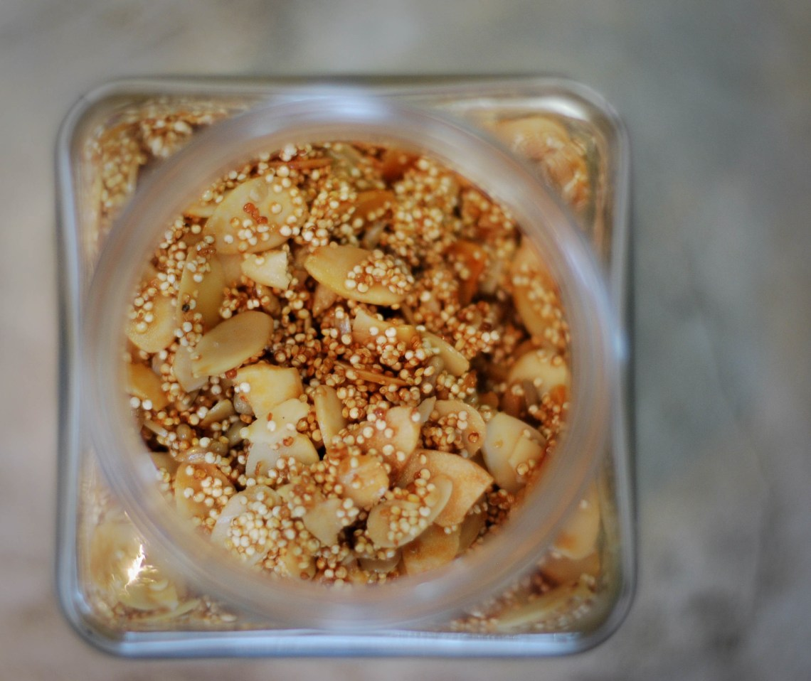 Quinoa Crunch Cereal from Nourish on Nutmeg Disrutped