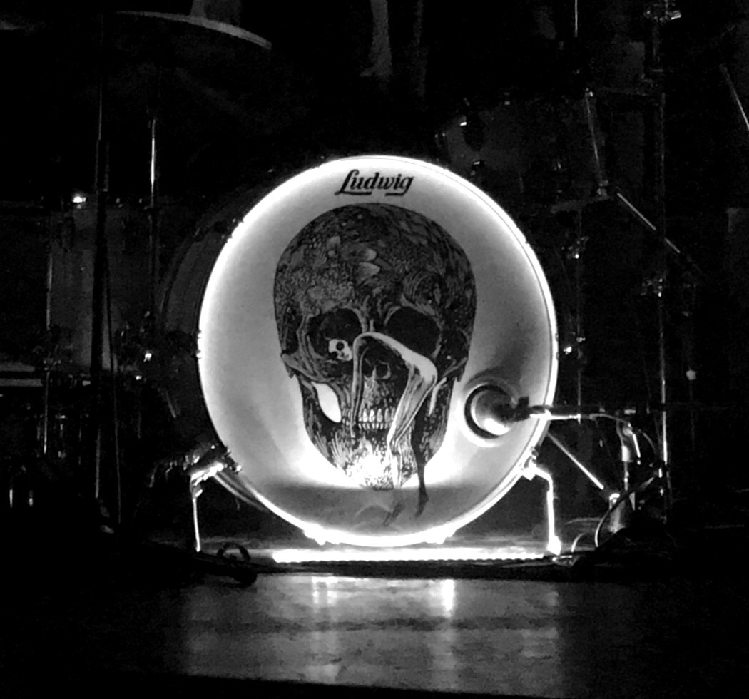 Patrick Keelers Drum at The Afghan Whigs show at the Rickshaw Theatre in Vancouver