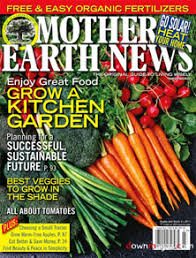 Mother Earth News is on the top 10 list for Christmas gifts for the gardener in you life on Nutmeg Disrupted