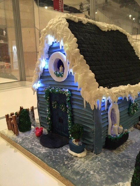 Not A Creature Was Stirring Gingerbread House from Nutmeg Disrupted Festival of Trees Edmonton 2019