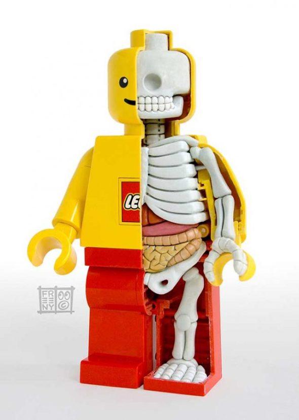 Röntgad minifig