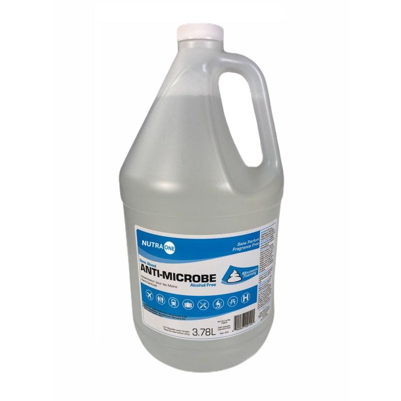 Désinfectant instantané pour les mains sans-Alcool Format 4 litres