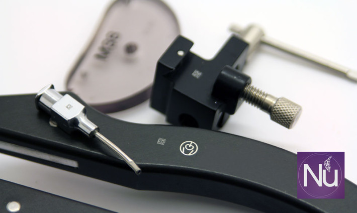 Unlimited possibilities for etching surgical instruments with laser