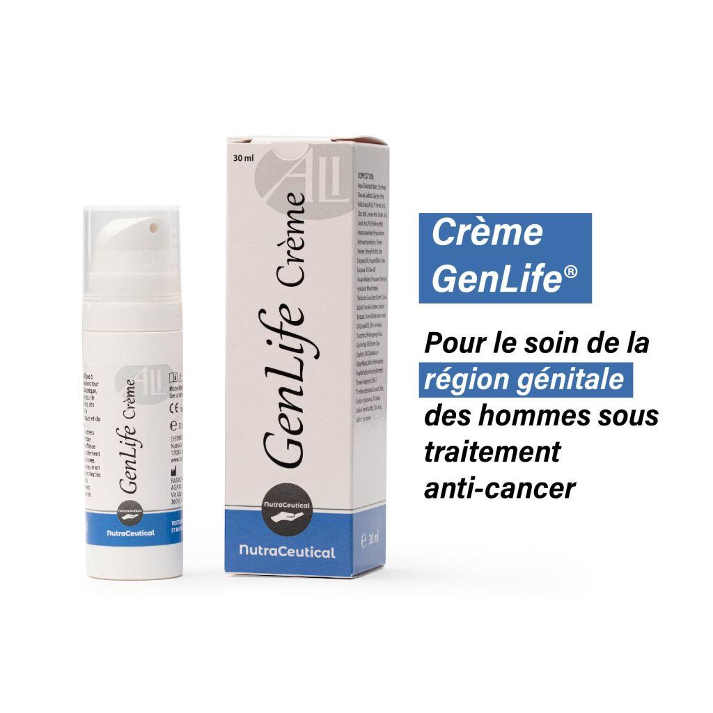 Crème GenLife® Pour les affections du pelvis et de la région génitale masculine 30 ml