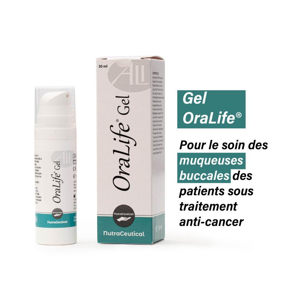 Gel OraLife® Pour l'inflammation des muqueuses de la bouche et de la gorge 30 ml