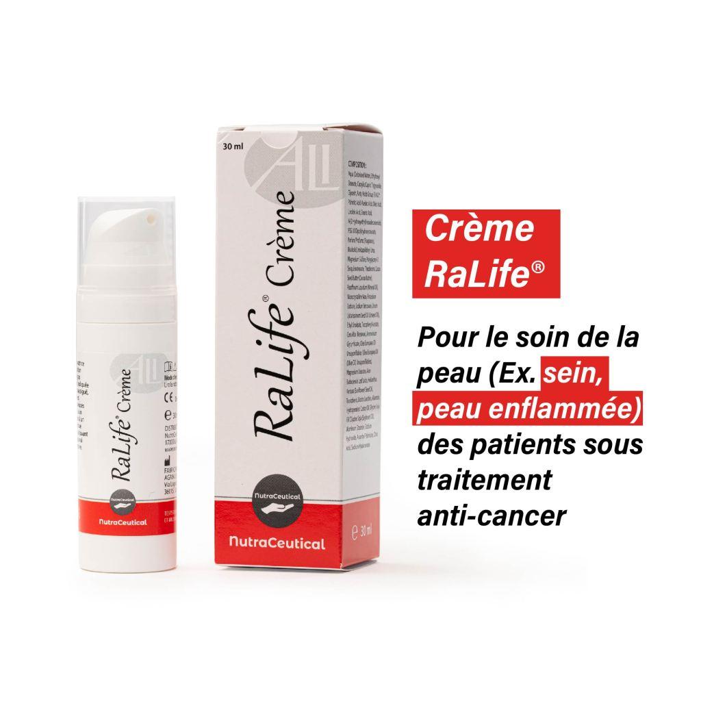 Crème RaLife® Pour la peau enflammée : visage, nez, zone locale 30 ml