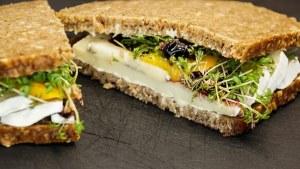 sandwich pour boîte à lunch et repas du soir