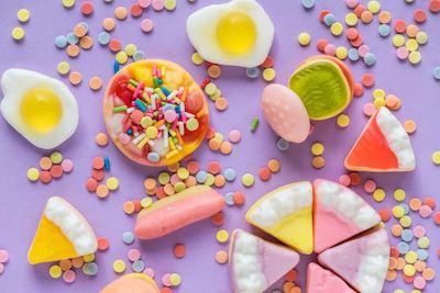 Friandises pour enfants : alimentation