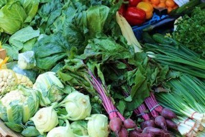 Fibres dans légumes et fruits