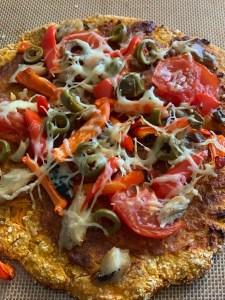pizzas : légumes enfants