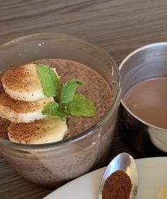 recette de pudding de chia