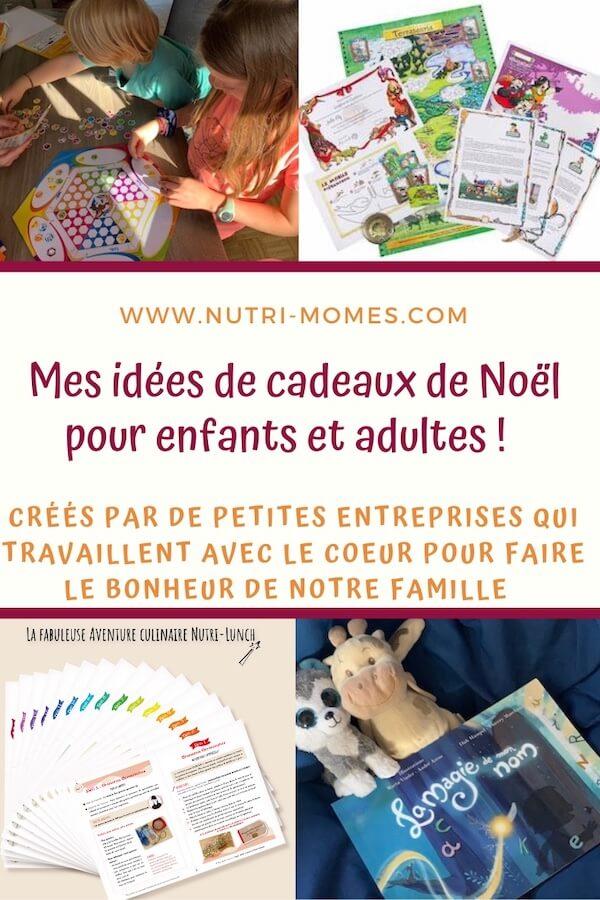 Idées de cadeaux pour enfants et adultes