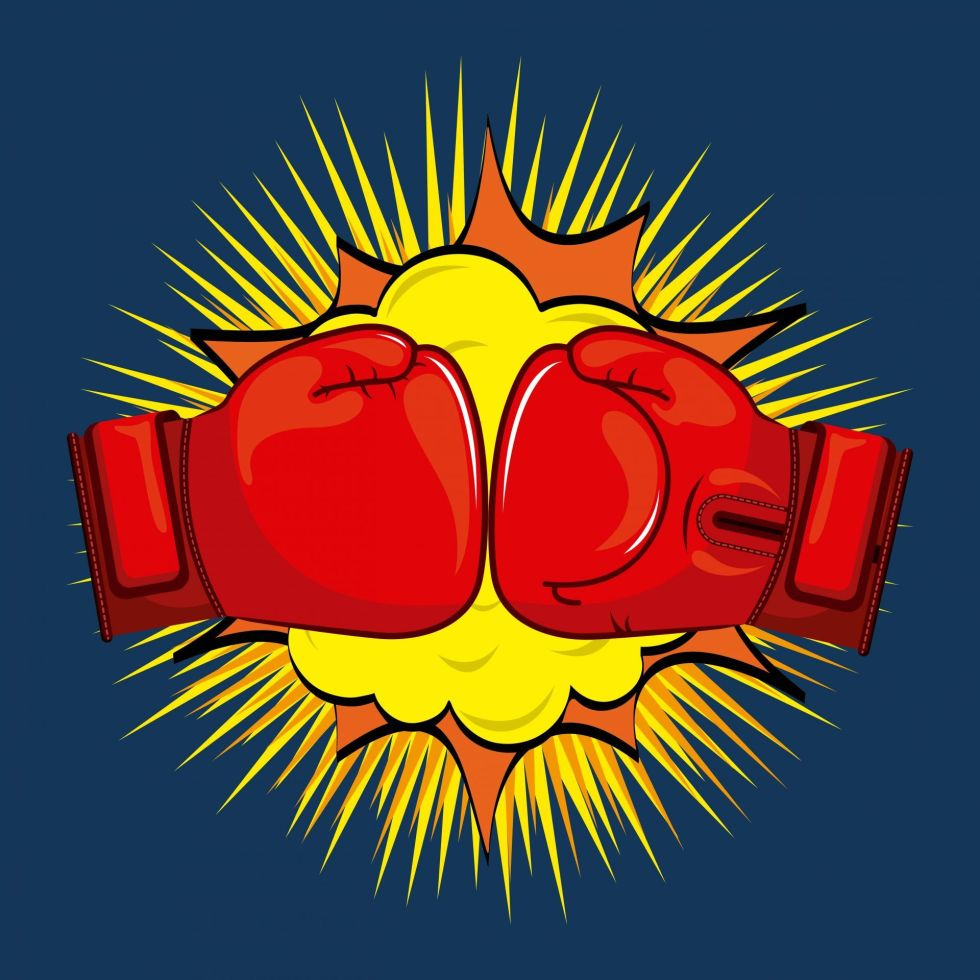 Boxing design logo