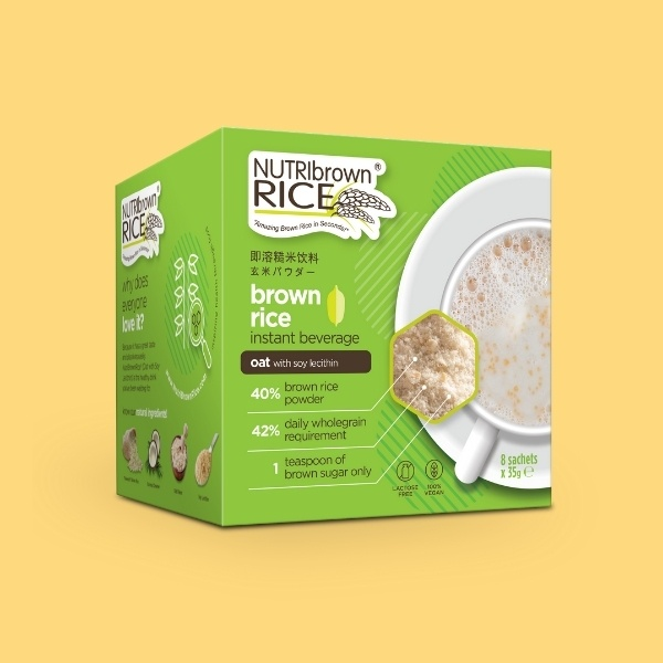 NutriBrownRice® (Oat with Soy Lecithin)