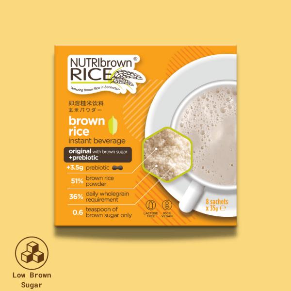 NutriBrownRice® (Brown sugar with Prebiotics)