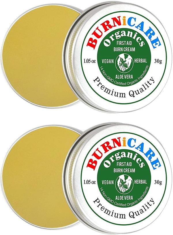 Burnicare Organics Burrn Cream 2 tins 30g