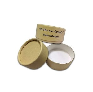 The No Tree Was Harmed Bamboo Kraft Paperboard Jars 30g