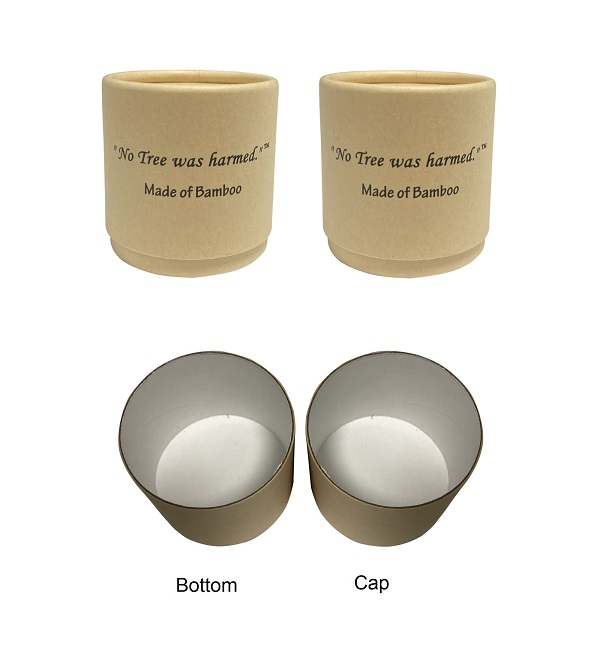 60g Bamboo Paperboard Jar