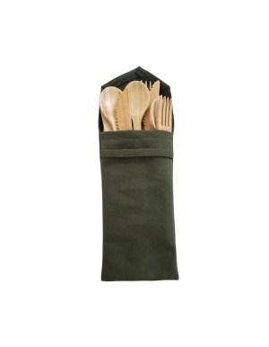 Bamboo Cutlery Set of 4