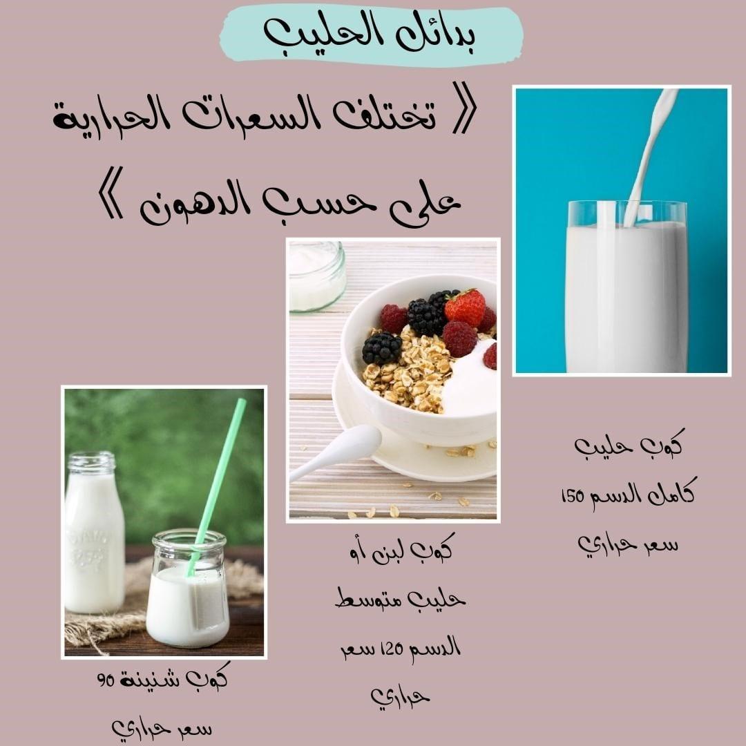 بدائل الحليب