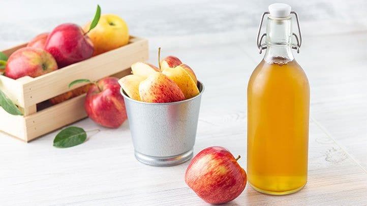 أضرار شرب خل التفاح