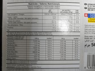 """Cereales tipo Corn Flakes """"Vital"""": Fruta y fibra"""