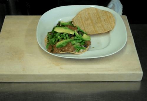Tostadas With Salsa Picante 3