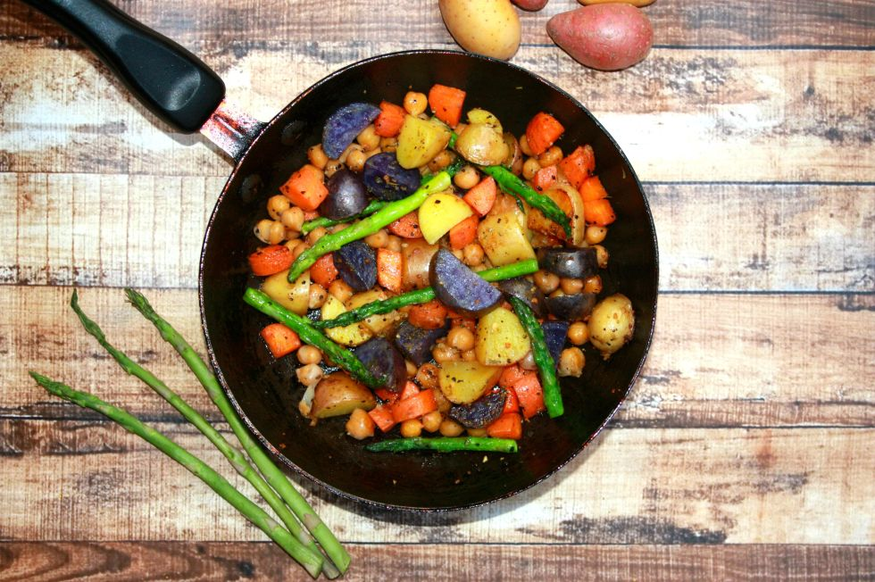 vegan potato skillet