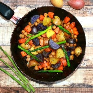 One Pot Vegan Potato Skillet