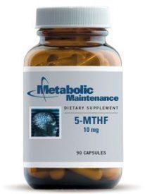 5-MTHF 10 MG 90 CAPS (5MTHF) - NutrimentRx