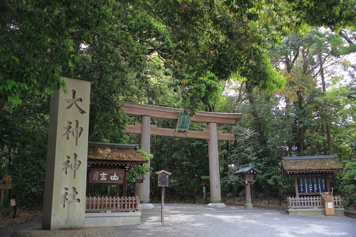 日本第一座神社-奈良-櫻井市-大神神社