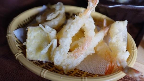 握壽司-蕎麥麵-天婦羅-蒲燒鰻魚飯
