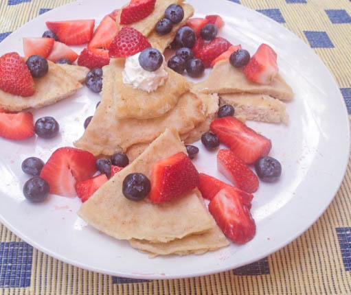 pancake bites w fruit (1 of 1)