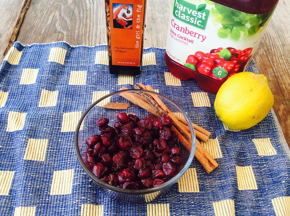 cran agrodulce simple ingredients