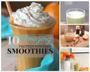 Power Up with these Hi-Pro Smoothies!
