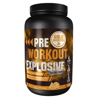 Pre workout explosive gold nutrition