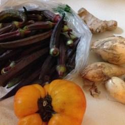 Fresh veggies from farm.