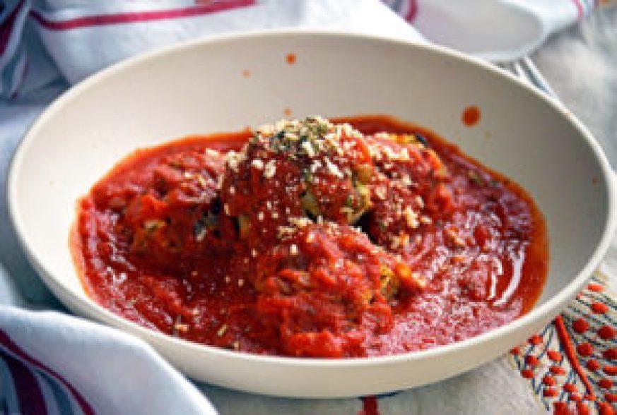 Lentil Veggie Meatball