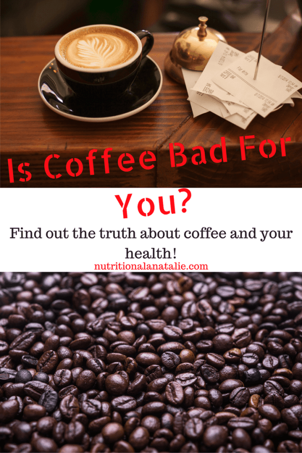 The truth about coffee and your health: is it good or bad for you? Find out what a Dietitian has to say!