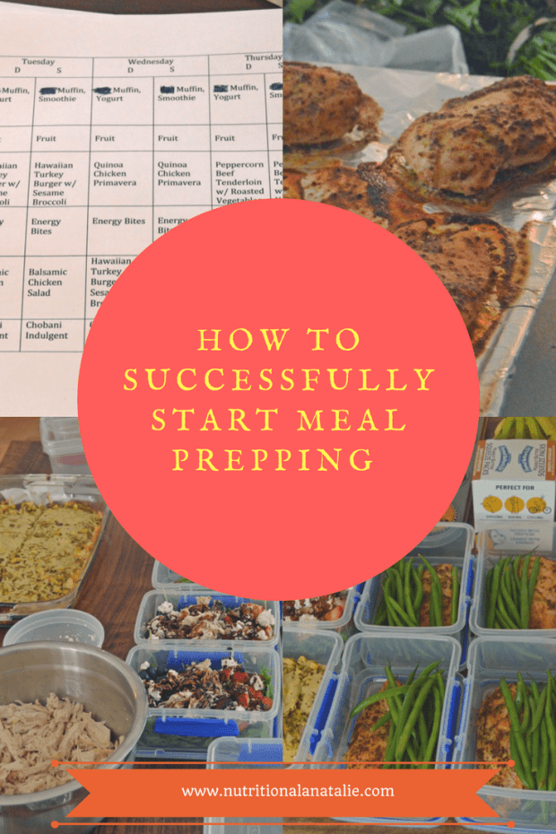 How to start meal prepping. Tips for a Registered Dietitian