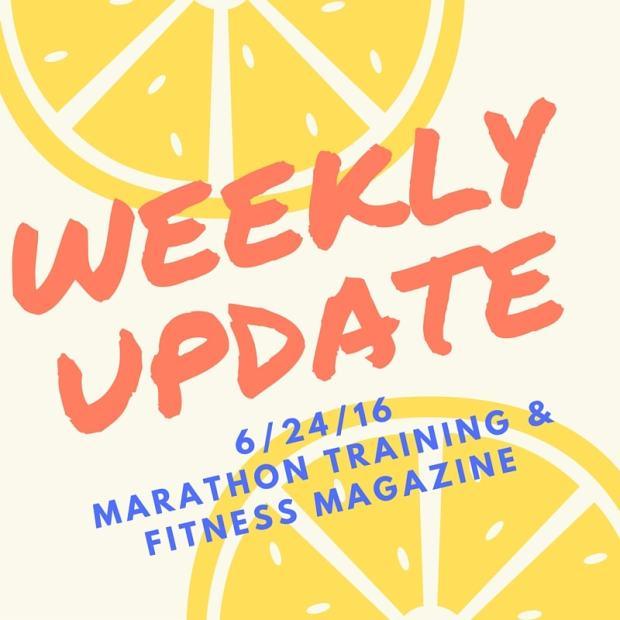 WEEKLY UPDATE 6/24/16