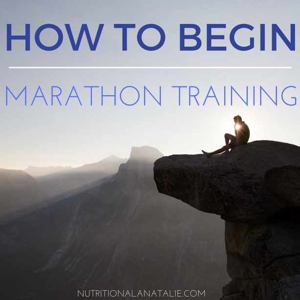 HOW TO BEGIN MARATHON TRAINING