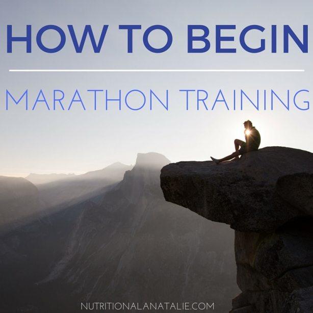 HOW TO BEGIN MARATHON TRAINING