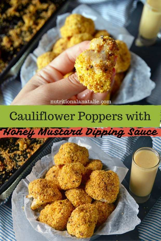 pinterest photo of caulfilower poppers