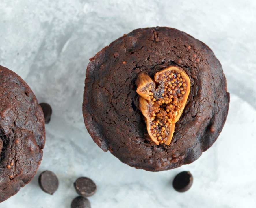 Recipe for Mini Chocolate Olive Oil Fig Cake