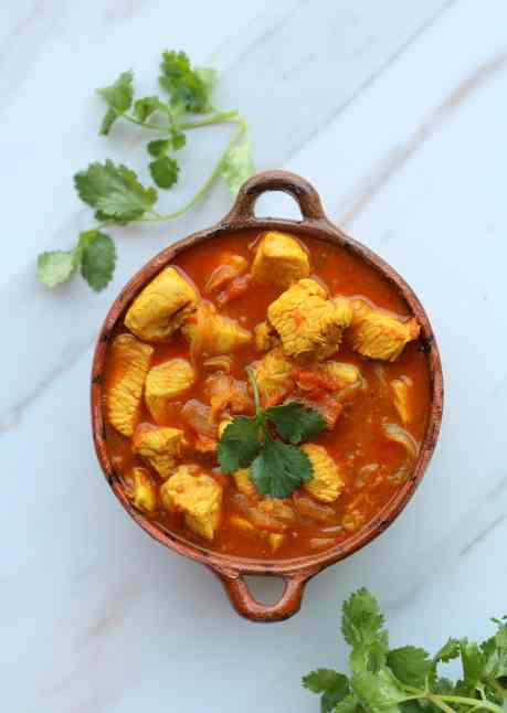 weeknight chicken curry