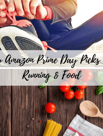 running and food amazon prime day deals